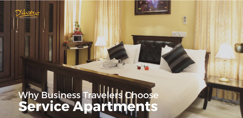 Why Business Travelers Choose Service Apartments